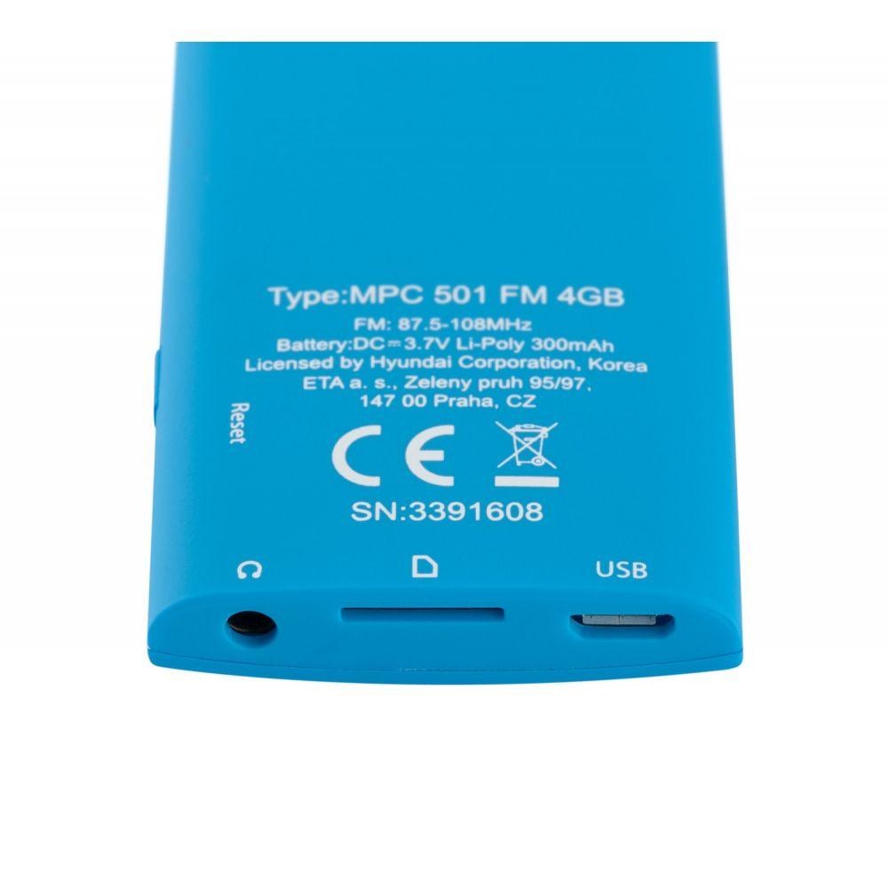 Odtwarzacz MP4  Hyundai MPC501GB4FMBL