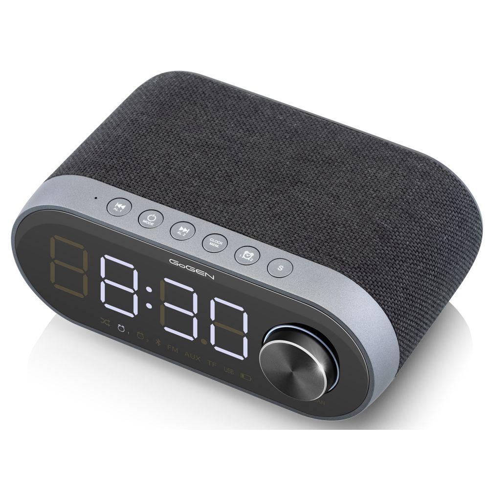 Radiobudzik z Bluetooth GoGEN RC212BTB